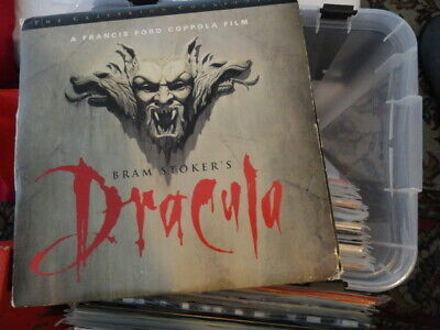 'Bram Stoker's Dracula' 1993 Criterion Collection 3 Laser Disc Edition