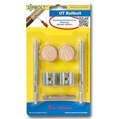 Gears 13.610 UT Railbolt - Connects Staircase Handrails To Balusters, Spindles,