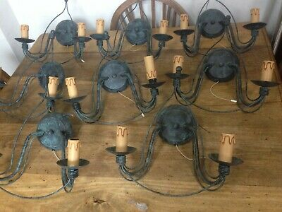 8 Reproduction Antique Wall Lamps Lights