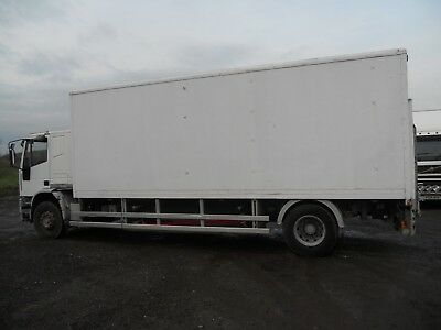Iveco 18E23 1999 Sleeper Cab Box Van On Steel Manual Pump And Gearbox Export