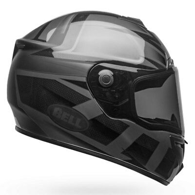 Bell Srt Predator Blackout Casco de Moto Mate / Negro Brillante