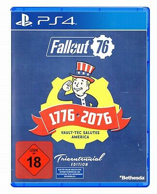 Fallout 76 Tricentennial Edition Playstation 4 / Neu
