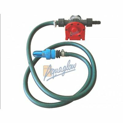 Waterbed Mattress Draining Pump Kit 3000 LPH and Instructions-Fast Delivery