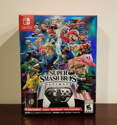 Super Smash Bros. Ultimate Special Edition Bundle (Nintendo Switch, 2018) SEALED