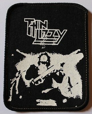 Thin Lizzy, Live and Dangerous, printed Patch, Vintage 80's, rar, rare