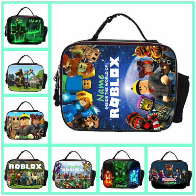 GAME ROBLOX PERSONALISED Boys Girls School Insulated Lunch