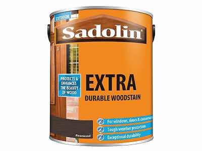 Sadolin Extra Durable Woodstain Rosewood 5 Litre