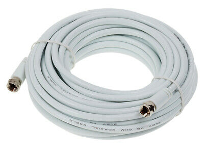 SMJ F Type Satellite (3C2V) Cable 10m