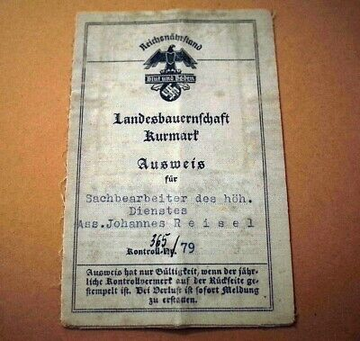House clearance item - Old German RARE DOCUMENT