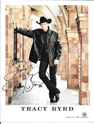 Tracy Byrd  Country Music  Autographed / Signed Photo