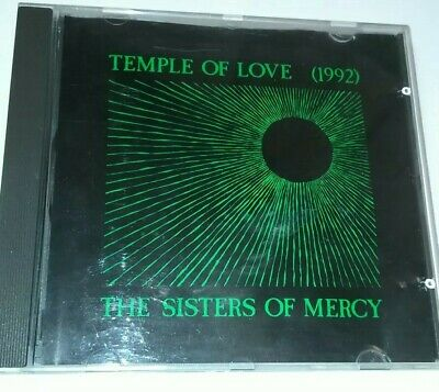 the sisters of mercy ~ temple of love ~ 4 track cd single 1992 Warner music uk
