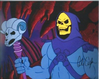 Alan Oppenheimer Skeletor Signed 8x10 Photo