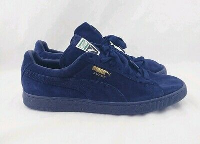 new styles 2aa99 024eb PUMA SUEDE SOLID Royal Blue Classic Mens Sneakers Lace Up US Size 13 EUR  Size 47