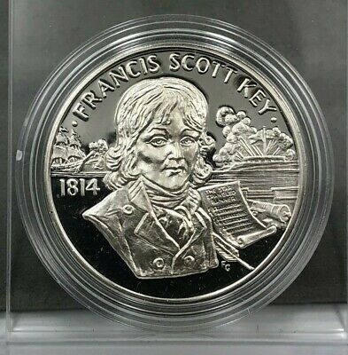 Moderate Price 1986 Statue Liberty Centennial Proof 38mm Silver Medal Exonumia Coins & Paper Money