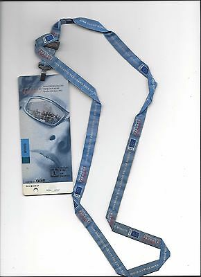 Paddock Club Ticket FORMEL 1 Nürburgring 2001, F1 Grand Prix von Europa 24.06.01