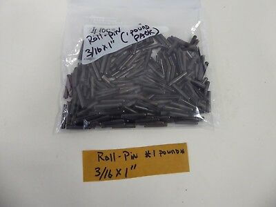 "3/16X1"" Spring Roll Tension Pins (1 pound package)"
