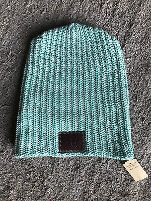 2660ed2d84d LOVE YOUR MELON LYM White and Green Speckled Beanie New With Tags ...