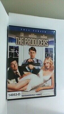 DVD Movie THE PRODUCERS Nathan Lane  in Original Jacket FS  08