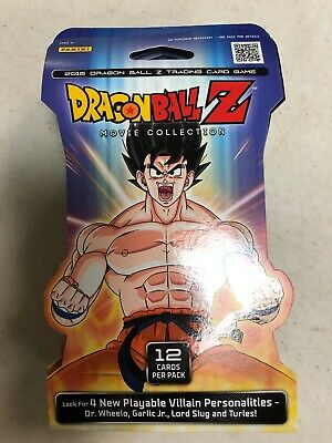 Dragon Ball Z Movie Collection Blistered Booster LOT Of 9 Packs Card Game