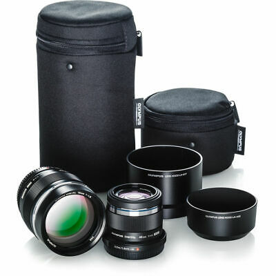 Olympus Portrait Lens Kit with 45mm f/1.8 & 75mm f/1.8 Lenses #V311040BU010