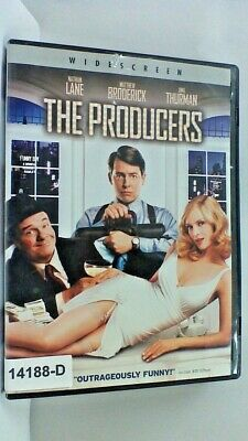 DVD Movie THE PRODUCERS Nathan Lane  in Original Jacket 16