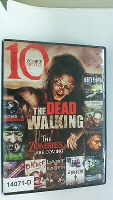 DVD Movie 10 ZOMBIE MOVIES Kitty Cole in Original Jacket FS  08