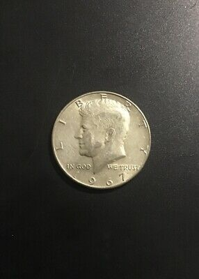 1967 P Kennedy Half Dollar As Pictured 40% SILVER FREE SHIPPING