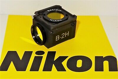 Nikon B-2H Fluorescent Microscope Filter Cube for Labophot, Optiphot, Microphot