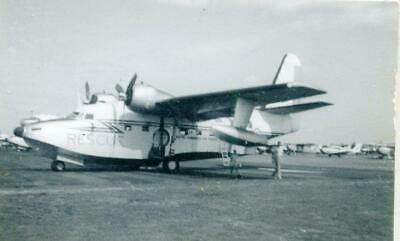 Vintage Real Aviation Photograph: Rcaf Canso Rescue Flying Boat C1944  Ref:mx039