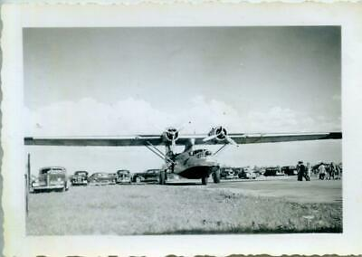 Vintage Real Aviation Photograph: Rcaf Canso Rescue Flying Boat C1944  Ref:mx137