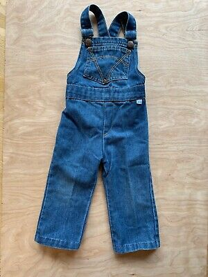 Vintate 70s 80s Billy The Kid Slim Overalls