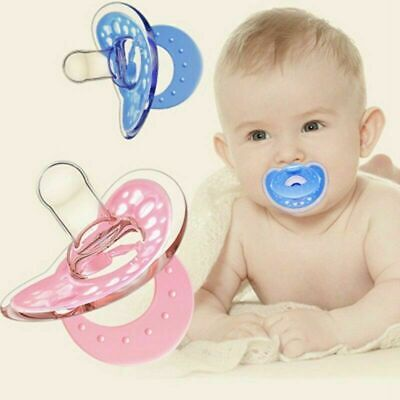 Newborn Kids Baby Orthodontic Dummy Pacifier Infant Silicone Teat Nipple Soother