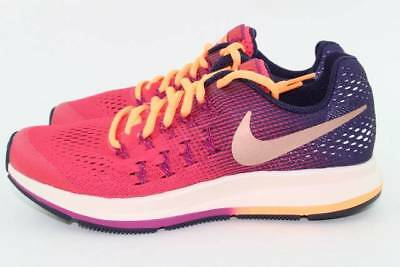 cff0ba51bff Nike Zoom Pegasus 33 Youth Size 6.0 Same As Woman 7.5 New Authentic Running
