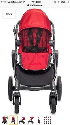 Baby Jogger City Select Brand New-red With Black Frame