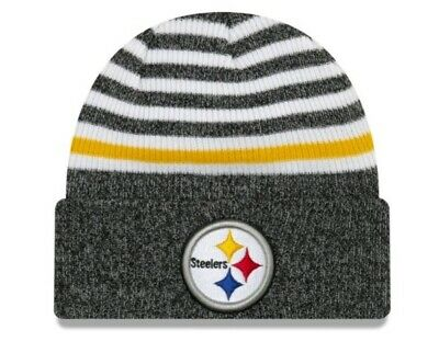 954ad4968211aa PITTSBURGH STEELERS KNIT NFL New Era Hat Winter Pom Beanie Knit Cap ...