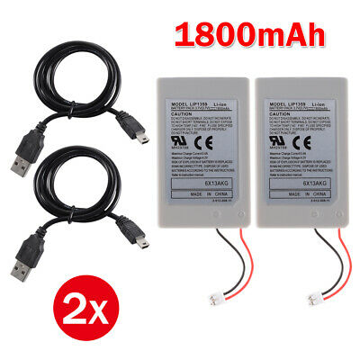 2x Replacement Battery Pack for PS3 Playstation 3 Wireless Controller AC1746