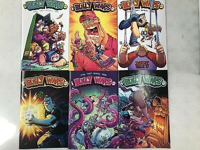 BULLY WARS Comic Set # 1 2 3 4 5 ( + #2 VARIANT) ~ IMAGE ~ Skottie Young