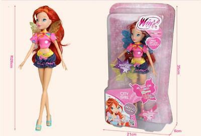2018 Newest Winx Club Doll rainbow colorful girl Action Figures Fairy Bloom Doll