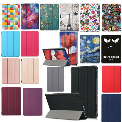 """For Lenovo Tab E10 Tablet 10.1"""" TB-X104F Folding Case Protective Cover Stand"""