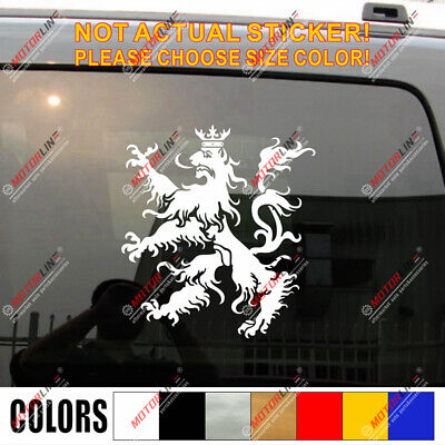 SELECT SIZE Scottish Lion Rampant Car Vinyl Sticker