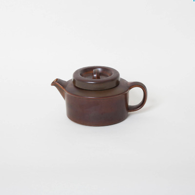 Arabia Teapot Ruska Brown Retro Mid century Modern Ulla Procope Country House