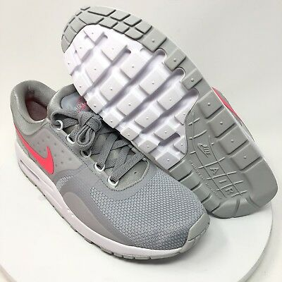 size 40 558d9 485ab Nike Air Max Zero Essential GS Running Shoes GIRLS Sz 7Y GreyPink 881229  003