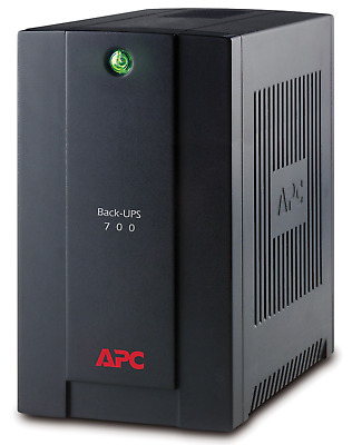 APC Back-UPS 700VA Battery Backup & Surge Protector - BX700U-AZ