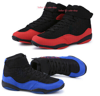 Boxing MMA Wrestling Shoes Athletic Boots Gym Training Martial Arts Shoes Unisex