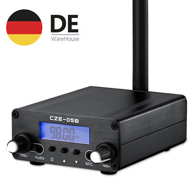 0.5W Stereo Frequency Broadcast Home FM Transmitter Audio-Sender with Antenna