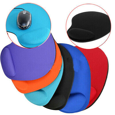 Black Fabric Mouse Mat Pad High Quality 5mm Thick Non Slip Foam Comfortable