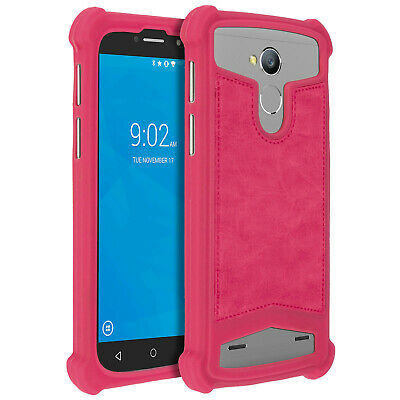 Coque Universelle Smartphone 5 à 5,3 pouces Protection Silicone Gel fuchsia