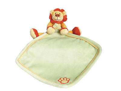 *NEW nursery plush soft toy LION doudou security comforter blanket BABY GIFT