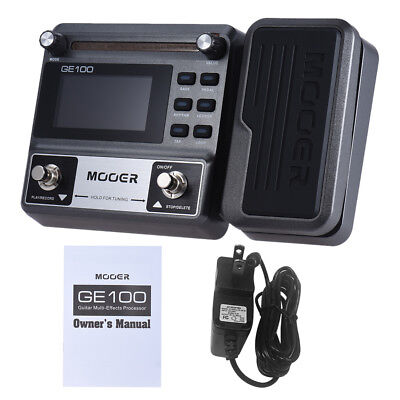 High Quality MOOER GE100 Guitar Multi-Effects Effect Pedal Loop Recording