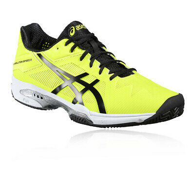 ASICS Uomo Gel-Solution Speed 3 Clay Tennis Scarpe Giallo Sport Leggero